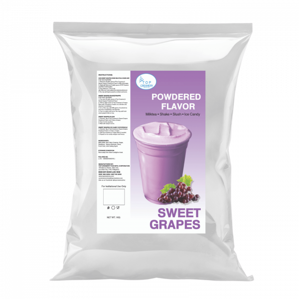 Sweet Grapes Powdered Flavor