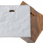Double Takeout Plastic Carrier Bag