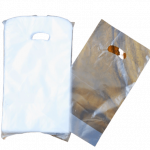 Single Takeout Plastic Carrier Bag